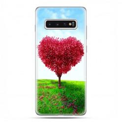 Samsung Galaxy S10 Plus - etui na telefon z grafiką - Serce z drzewa.