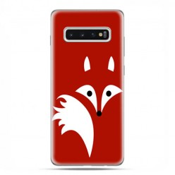 Samsung Galaxy S10 Plus - etui na telefon z grafiką - Czerwony lisek.