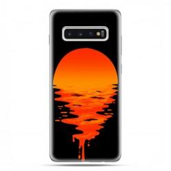 Samsung Galaxy S10 Plus - etui na telefon z grafiką - Zachodzące słońce.
