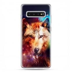 Samsung Galaxy S10 Plus - etui na telefon z grafiką - Wilk z galaktyki.