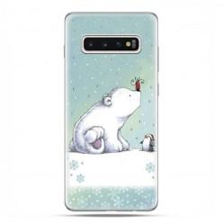 Samsung Galaxy S10 Plus - etui na telefon z grafiką - Polarne zwierzaki.