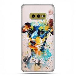 Samsung Galaxy S10e - etui na telefon z grafiką - Szczeniak watercolor.