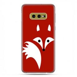 Samsung Galaxy S10e - etui na telefon z grafiką - Czerwony lisek.