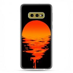 Samsung Galaxy S10e - etui na telefon z grafiką - Zachodzące słońce.