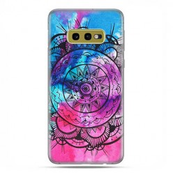Samsung Galaxy S10e - etui na telefon z grafiką - Rozeta watercolor.