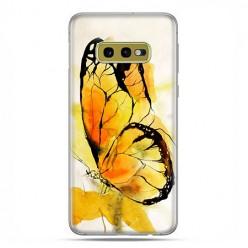 Samsung Galaxy S10e - etui na telefon z grafiką - Motyl watercolor.