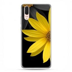 Huawei P20 - etui na telefon z grafiką - Żółty słonecznik