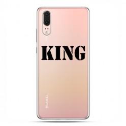 Huawei P20 - etui na telefon z grafiką - King