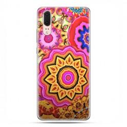 Huawei P20 - etui na telefon z grafiką - Słoneczna mandala