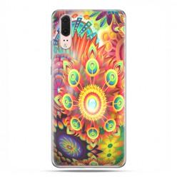 Huawei P20 - etui na telefon z grafiką - Ognista rozeta
