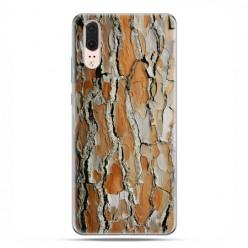 Huawei P20 - etui na telefon z grafiką - Drzewo sosna