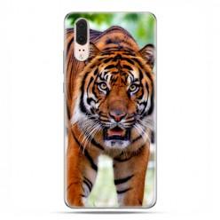 Huawei P20 - etui na telefon z grafiką - Dumny tygrys