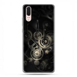 Huawei P20 - etui na telefon z grafiką - Wnętrze zegara