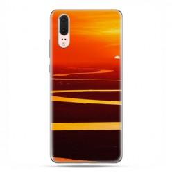 Huawei P20 - etui na telefon z grafiką - Zachód słońca nad Amazonką