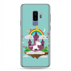 Samsung Galaxy S9 Plus - etui na telefon z grafiką - Tęczowy jednorożec.