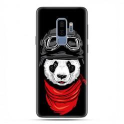 Samsung Galaxy S9 Plus - etui na telefon z grafiką - Panda w czapce.