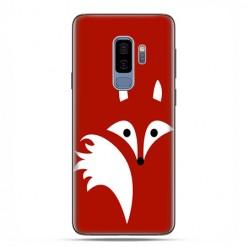 Samsung Galaxy S9 Plus - etui na telefon z grafiką - Czerwony lisek.