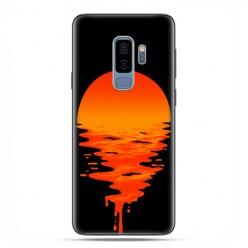 Samsung Galaxy S9 Plus - etui na telefon z grafiką - Zachodzące słońce.