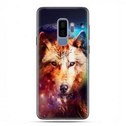 Samsung Galaxy S9 Plus - etui na telefon z grafiką - Wilk z galaktyki.