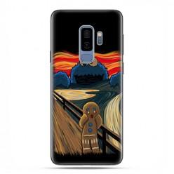 Samsung Galaxy S9 Plus - etui na telefon z grafiką - Parodia obrazu krzyk.