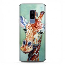 Samsung Galaxy S9 Plus - etui na telefon z grafiką - Żyrafa watercolor.