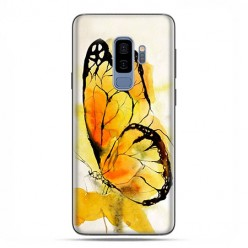 Samsung Galaxy S9 Plus - etui na telefon z grafiką - Motyl watercolor.