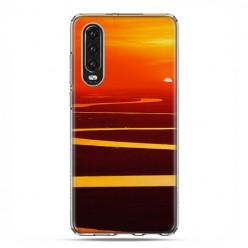 Huawei P30 - silikonowe etui na telefon - Zachód słońca nad Amazonką