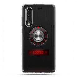 Huawei P30 - silikonowe etui na telefon - Elektroniczny sejf