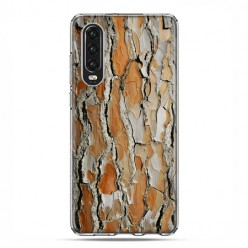 Huawei P30 - silikonowe etui na telefon - Drzewo sosna