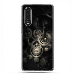 Huawei P30 - silikonowe etui na telefon - Wnętrze zegara