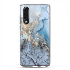 Huawei P30 - silikonowe etui na telefon - Kwaśne jezioro