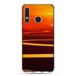 Huawei P30 Lite - silikonowe etui na telefon - Zachód słońca nad Amazonką