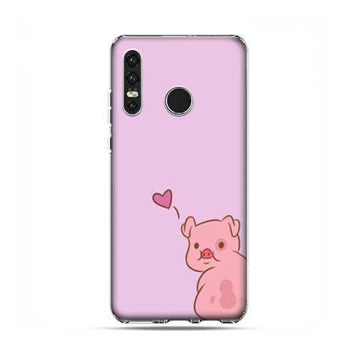 Huawei P30 Lite Etui Na Telefon Zakochana świnka Etui Na Huawei P30 Lite