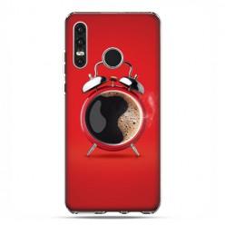 Huawei P30 Lite - etui na telefon - Kawa poranny budzik