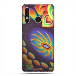 Huawei P30 Lite - etui na telefon - Mandala złoty pająk
