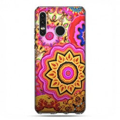 Huawei P30 Lite - etui na telefon - Słoneczna mandala