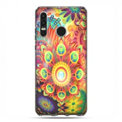 Huawei P30 Lite - etui na telefon - Ognista rozeta