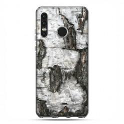 Huawei P30 Lite - etui na telefon - Drzewo pień brzozy