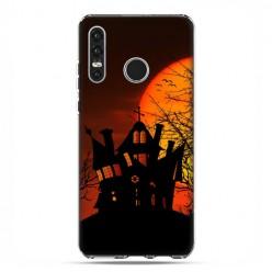 Huawei P30 Lite - etui na telefon - Straszny dwór Halloween