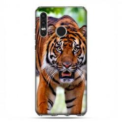 Huawei P30 Lite - etui na telefon - Dumny tygrys