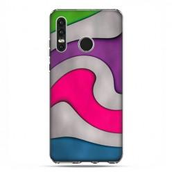 Huawei P30 Lite - etui na telefon - Kolorowa roztopiona plastelina