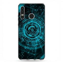 Huawei P30 Lite - etui na telefon - Futurystyczny schemat