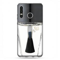 Huawei P30 Lite - etui na telefon - Bezbarwny lakier do paznokci