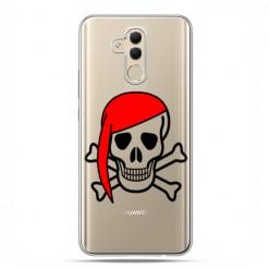 Huawei Mate 20 Lite - etui na telefon - Pirat Roger z czerwoną chustą
