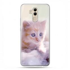 Huawei Mate 20 Lite - etui na telefon - Mała różowa kicia
