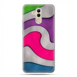 Huawei Mate 20 Lite - etui na telefon - Kolorowa roztopiona plastelina