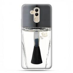 Huawei Mate 20 Lite - etui na telefon - Bezbarwny lakier do paznokci