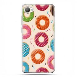 HTC Desire 12 - etui na telefon z grafiką - Kolorowe pączki.