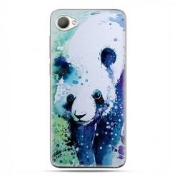 HTC Desire 12 - etui na telefon z grafiką - Miś panda watercolor.