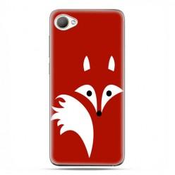 HTC Desire 12 - etui na telefon z grafiką - Czerwony lisek.